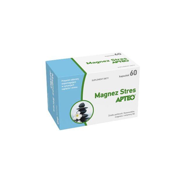 Magnesium Stress Apteo 60 капсул