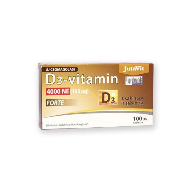 Витамин D3 100мг 100 таблеток