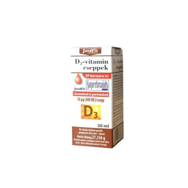Витамин D3  капли 30мл