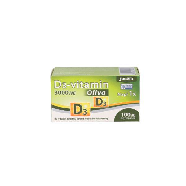 Витамин D3 на оливковом масле 100 капсул 50мг
