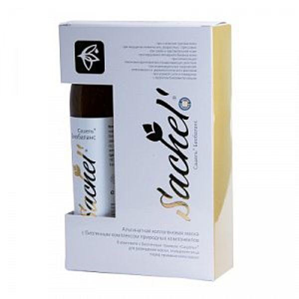 Маска альгинатная коллагеновая Сашель Биобаланс (набор: тоник 300 мл.+ сухая композиция 70 гр.) сашера мед