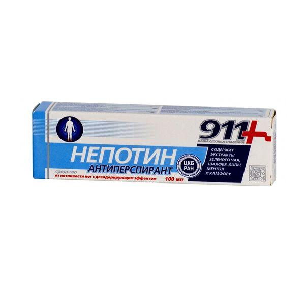 911 Гель для ног Непотин твинс тэк