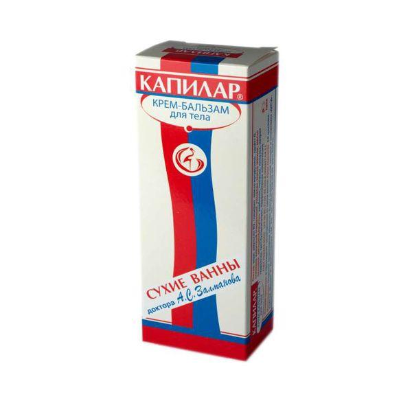 Капилар крем-бальзам для тела Сухие ванны доктора А.С.Залманова диод