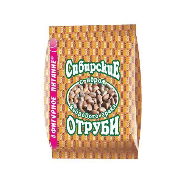 Отруби Сибирские с ядром кедрового ореха