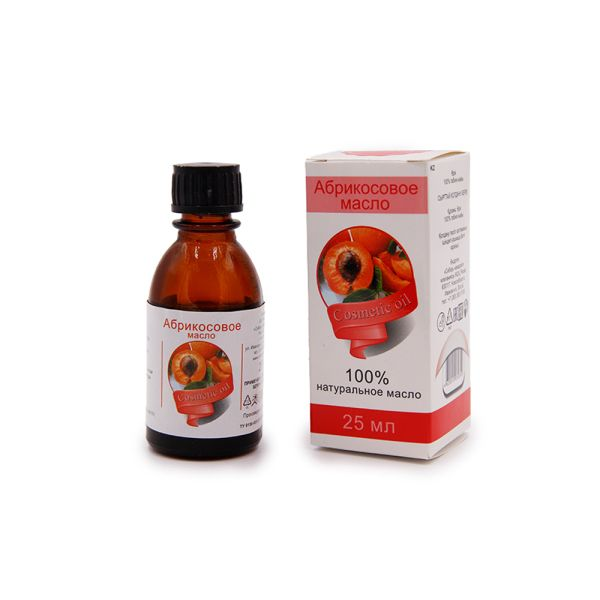 Apricot cosmetic oil 25 ml