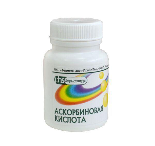 Аскорбиновая кислота аскорбинка