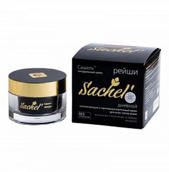 Крем косметический натуральный дневной для лица Сашель Рейши сашера мед