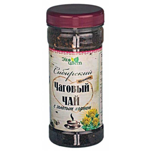 Травы алтая Сибирский чаговый (из чаги) чай с золотым корнем