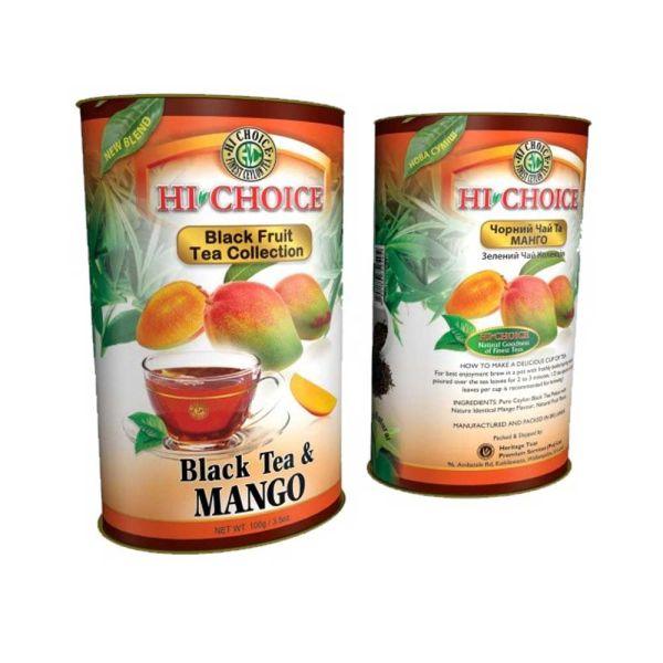 Хайчойз черный чай с манго CHOICE Черный чай с манго