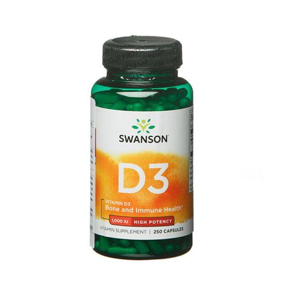 Витамин D3 1000 IU 25 mcg 250 капсул