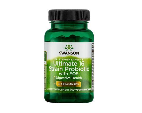 Dr. Stephen Langeri 16 пробиотиков с минералами, 60 капсул