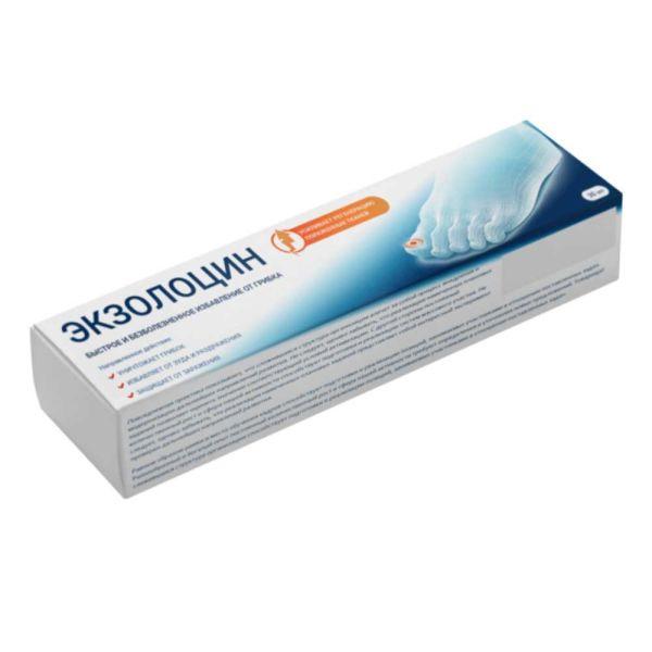 """""""Экзолоцин"""" гель, 30 мл. Быстрое и безболезненное избавление от грибка."""