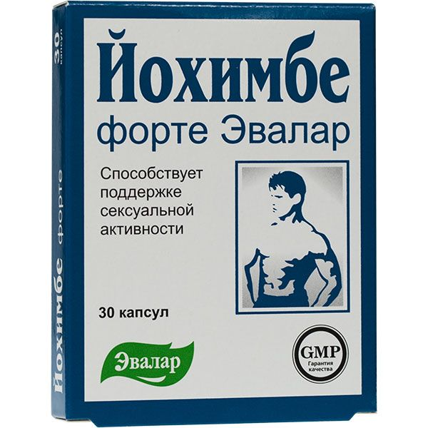 Эвалар Йохимбе Форте
