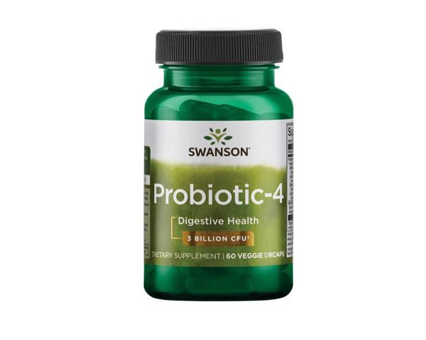 Swanson Probiootik-4, 60 Kapseln
