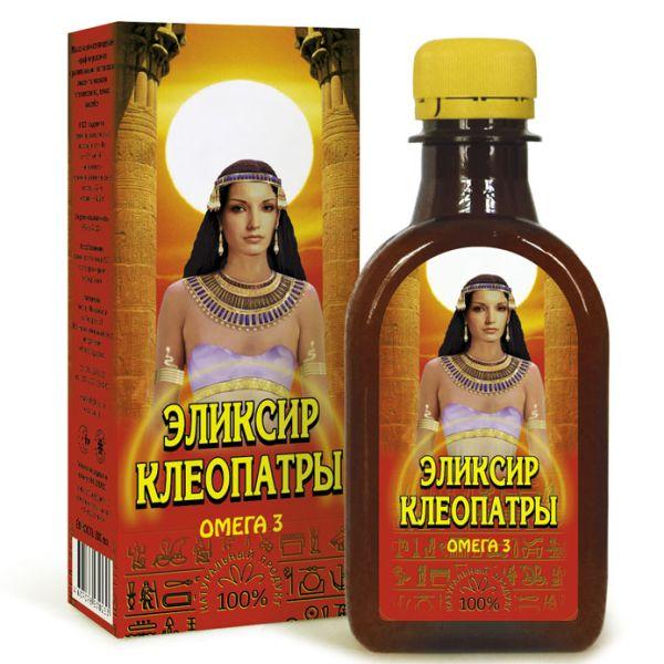 Масло льняное Эликсир Клеопатры с экстрактами трав компас здоровья
