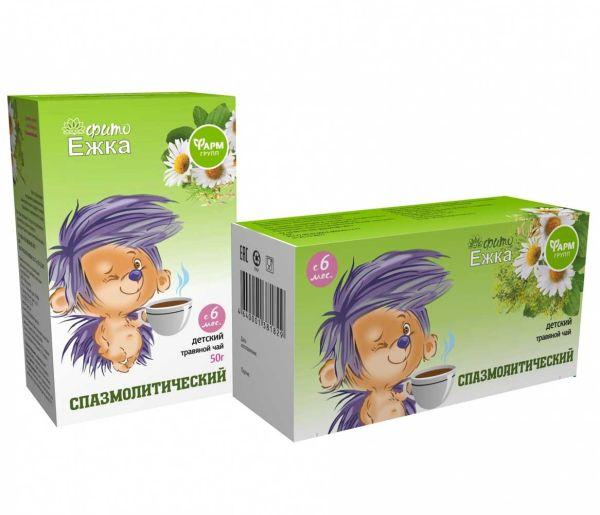 Детский травяной чай «Фитоежка» «Спазмолитический»