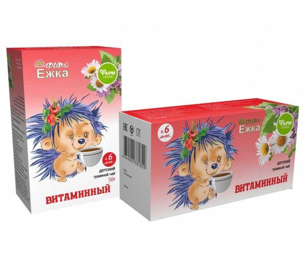 Детский травяной чай «Фитоежка» «Витаминный»