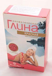 Глина косметическая Красная Tonerde Lehm kosmetisch Rot стимулирует обменные процессы