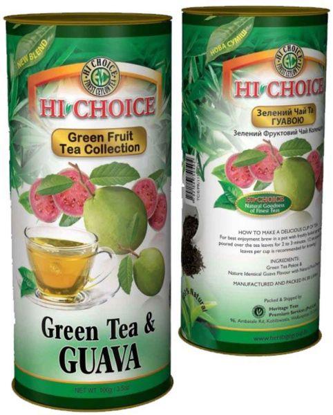 """Зеленый чай с гуава """"HI CHOICE"""""""