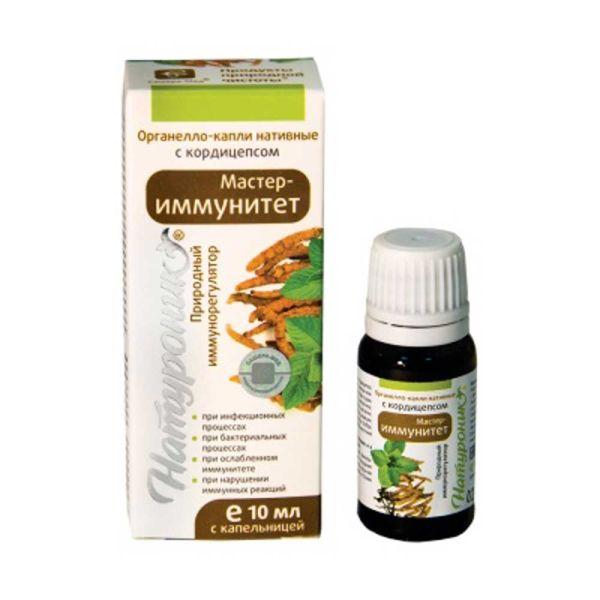 Натуроник Мастер-Иммунитет капли с кордицепсом сашера-мед