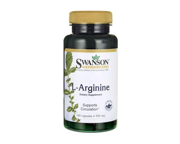 L-аргинин 500 мг, 100 капсул