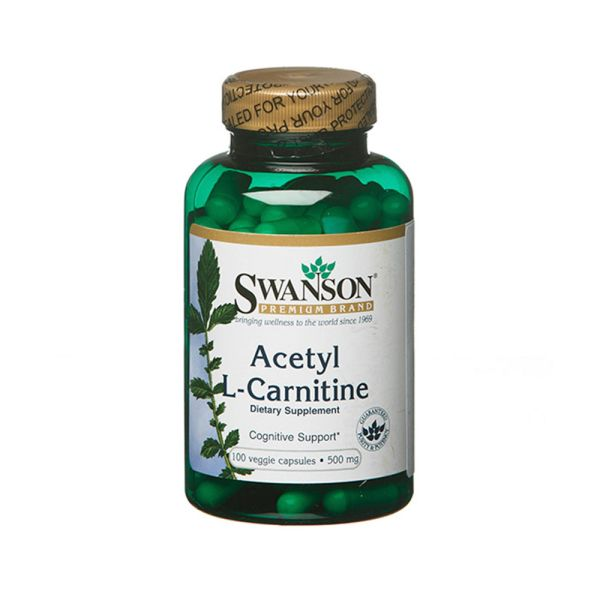 Ацетил L-карнитин 500 мг 100 капсул