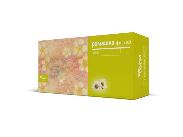 Ромашка аптечной цветки Kamillenblüten