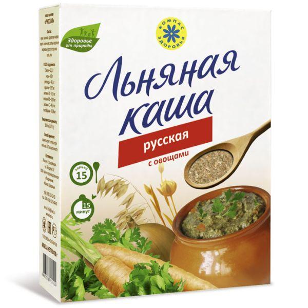 Каша льняная Русская компас здоровья