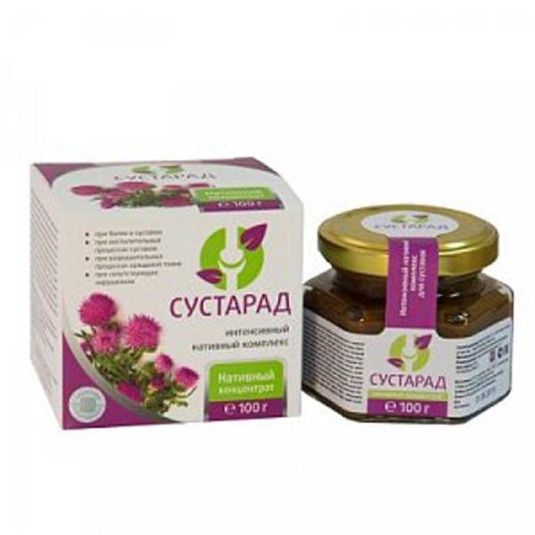 Сустарад природный и безопасный комплекс для суставов сашера-мед