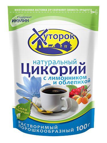 Цикорий растворимый (лимонник и облепиха) 100г